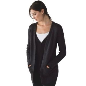 Lululemon Vestigan Cardigan Sweater